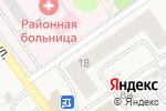 Схема проезда до компании ЗахОти в Култаево