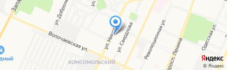 Башжилиндустрия на карте Стерлитамака