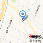 Кров Маркет на карте Чесноковки