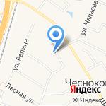Транспортные системы и логистика на карте Чесноковки
