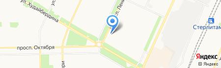 S-Mobile на карте Стерлитамака