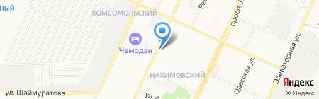Расчетно-сервисный центр №3 на карте Стерлитамака
