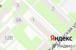 Схема проезда до компании Вкусный адрес в Перми