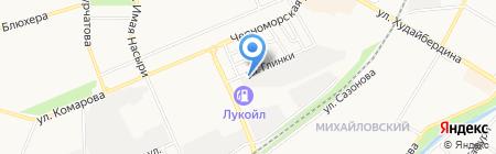 Автомойка-Евромойка на карте Стерлитамака