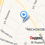 Ангарская сосна на карте Чесноковки