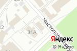 Схема проезда до компании Вечернее Баку в Перми