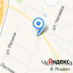 Магазин строительных материалов на карте Чесноковки