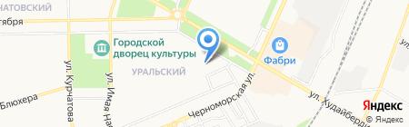 Детский сад №70 Алёнушка на карте Стерлитамака