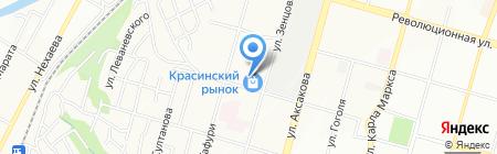 БашСпецСнаб на карте Уфы
