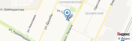 Аделина на карте Стерлитамака