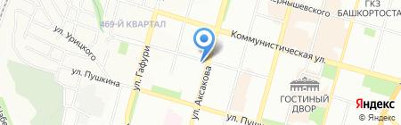 Лилия на карте Уфы