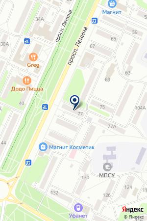 БАШЭЛЕКТРОСТРОЙКОМПЛЕКТ на карте Стерлитамака