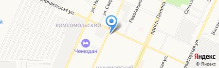 Плёс-Башкирия на карте Стерлитамака