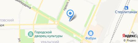 Хлебосольный на карте Стерлитамака
