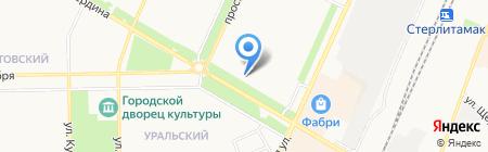 Кламас на карте Стерлитамака
