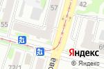 Схема проезда до компании Веселая расчёска в Уфе