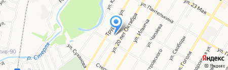 Парикмахерская на Полевой на карте Стерлитамака