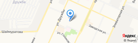 Юлдуз на карте Стерлитамака