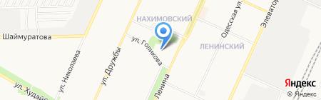 Куганак на карте Стерлитамака