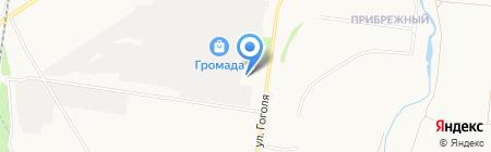 Штрафстоянка на карте Стерлитамака