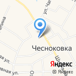 Вознесенский храм на карте Чесноковки
