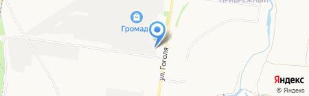 Компания услуг крана-манипулятора на карте Стерлитамака
