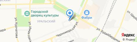 Хмельная кружка на карте Стерлитамака