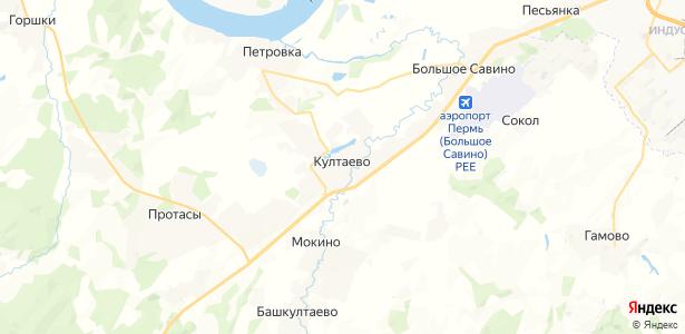 Култаево на карте