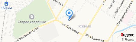 Красотка на карте Стерлитамака