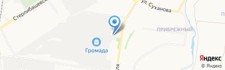 Автосупермаркет на карте Стерлитамака