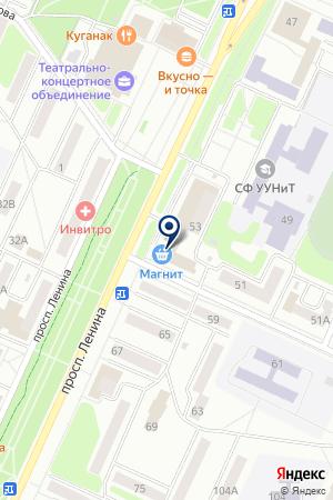 ВИСТА МЕБЕЛЬНЫЙ САЛОН на карте Стерлитамака