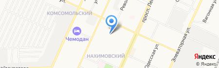 Средняя общеобразовательная школа №10 на карте Стерлитамака
