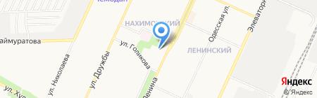 Искра на карте Стерлитамака