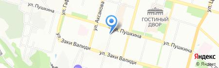 Уфимский Центр Экспертиз Чиглинцева на карте Уфы