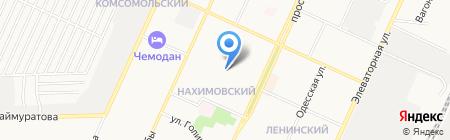 Средняя общеобразовательная школа №7 на карте Стерлитамака