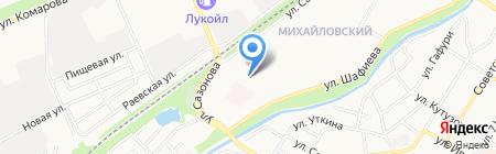 Белочка на карте Стерлитамака