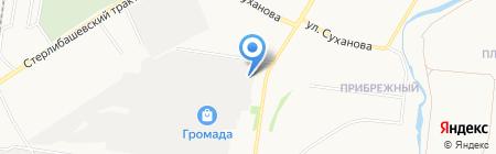 Лион на карте Стерлитамака