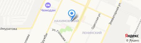 Союз на карте Стерлитамака