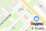 Схема проезда до компании Аптечный центр в Перми