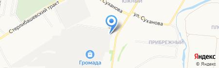 Арзан на карте Стерлитамака