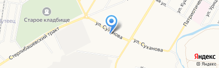 Шиномонтаж.ка на карте Стерлитамака