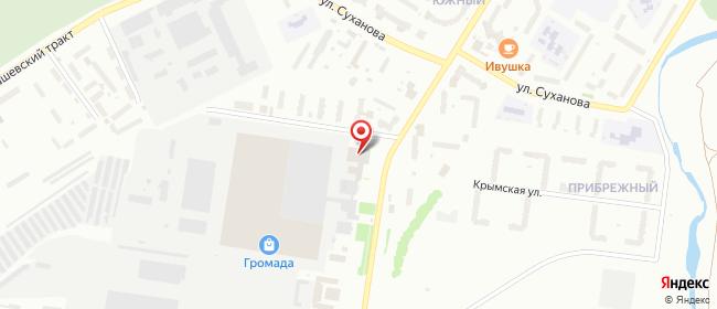 Карта расположения пункта доставки Стерлитамак Гоголя в городе Стерлитамак