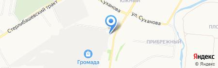 ВТС на карте Стерлитамака
