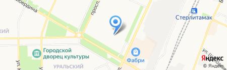 Витраж Пласт на карте Стерлитамака