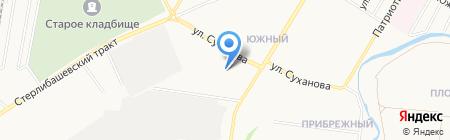 БашГарантСтрой на карте Стерлитамака