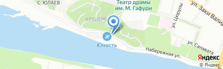 У Петровича на карте Уфы