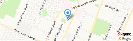 Башкомплектсервис на карте Стерлитамака