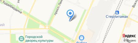 Детский сад №59 на карте Стерлитамака