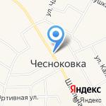 Дар Сайрана на карте Чесноковки