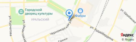 Газпромбанк на карте Стерлитамака